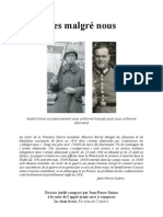 """Les """"Malgré Nous"""" de France"""