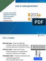 C Code Generation