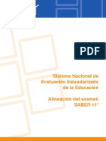 Alineacion Examen SABER 11 2014