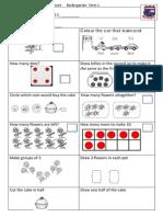Tenambit PS Maths Key Ideas Ass ES1 T2