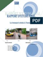 Etude Du Transport Urbain a Yaounde