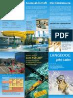 Flyer Erlebnisbad Langeoog
