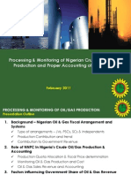 NNPC - Monitoring Oil Production and Revenue Generation