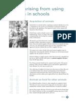 info animals in school australia