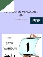 Alat Bantu Mengajar j-QAF (NOMBOR 1-10)