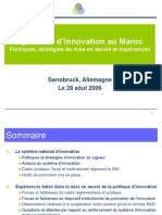 Maroc Systeme d Innovation