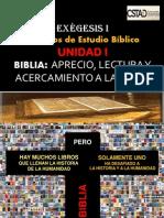 Unidad I- Biblia