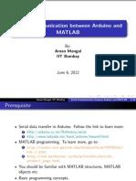 Serial Comm Matlab