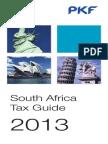 South Africa Pkf Tax Guide 2013