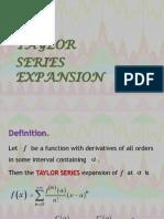 Math 38 UPLB Taylor Series Expansion