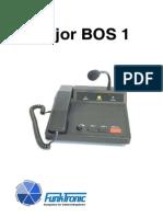 major bos 1 manual