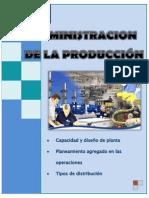 Admiistracion de La Produccion