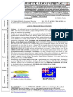 14-20030321 to High Court Correspondence