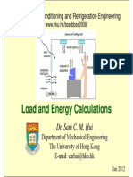 Load and Energy Calculations