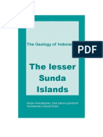 Lesser Sunda Islands Geology