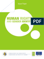 Human Rights and Gender Identity