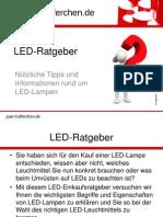 LED Ratgeber