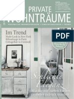 20 Private Wohntraume Magazin - N 01, 2013