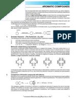 Aromatic Compound Theory E