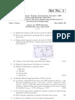 PDC regular jntu question papers 2008