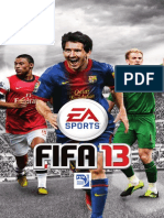 Fifa 13 Manuals_Sony Playstation 3