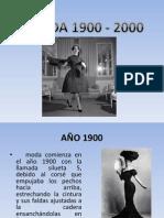 MODA 1900 - 2000