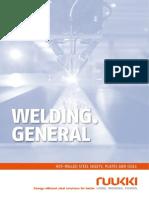Ruukki Hot Rolled Steels Welding General 2013