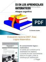 Psicologia y Problemas de Aprendizaje 2011 Matematicas
