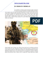 Inastute.com - The Crisis in Crimea II