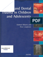 Oral and Dental Trauma in Children and Adolescents