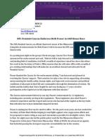 Beth Fraser press release