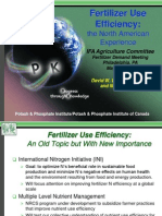 Fertilizer Use Efficiency