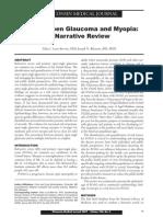 2007 Primary Open Glaucoma and Myopia