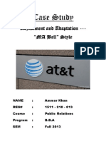 Case Analysis (AT&T Final)