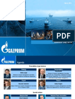 Gazprom Investor Day Presentation - Mar 3 2014