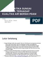 Problematika Sungai Surabaya Terhadap Kualitas Air Bersih Pdam