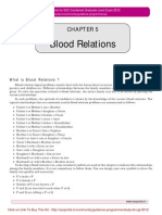 SSC CGL Reasoning (Blood Relations)