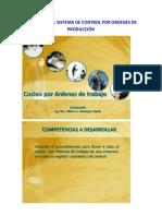EJERCICIOS DEL SISTEMA DE CONTROL POR ORDENES DE PRODUCCIÓN