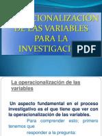 Operar Variable Jgb