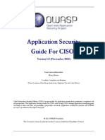 Owasp Ciso Guide