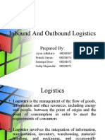 Inbound and Outbound Logistics
