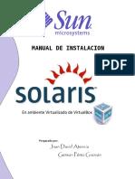 Manual Instalación Solaris 10 - VirtualBox