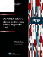 Snip Para Todos-manual de Inversion Publica