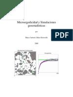 Marco a.alfaro, Microergodicidad y Simulaciones