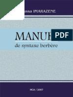 Manuel de syntaxe berbère - Moussa Imarazene