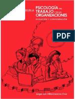 Investigaciones en la  Psicología del Trabajo y de las Organizaciones. Evolución & Configuración.  Jorge Villavicencio