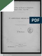 Droysen Zu Aristoteles' Athenaion Politeia