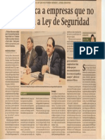 Noticia Ley SST