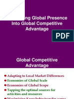 Converting Global Presence Into Global Competitive Advantage (1)