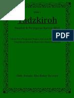Buku I Tadzkiroh Kepada Penguasa Presiden, Dkk (Lengkap)